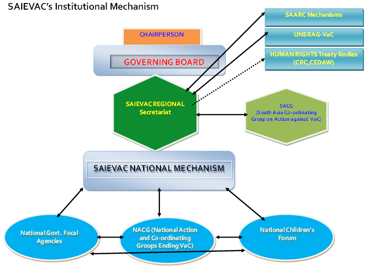 SAIEVAC's Institutional Mechanism