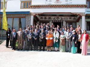 THE STRATEGY PLANNING WORKSHOP SAIEVAC – SDF PROJECT Paro, 2012